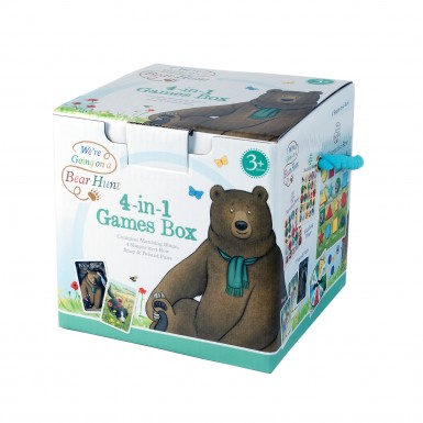 TV We're Going on a Bear Hunt 4 in 1 Games Cube