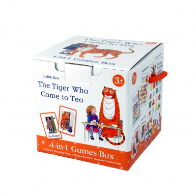 The Tiger Who Came to Tea 4 in 1 Games Cube