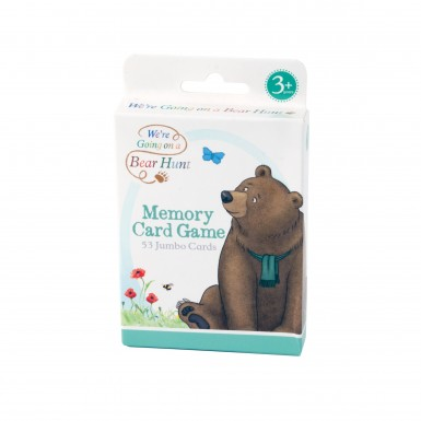 TV We're Going on a Bear Hunt Memory Card Game