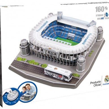 3D Stadium - Real Madrid