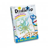 DoodleTop Sea Life Stencil Kit